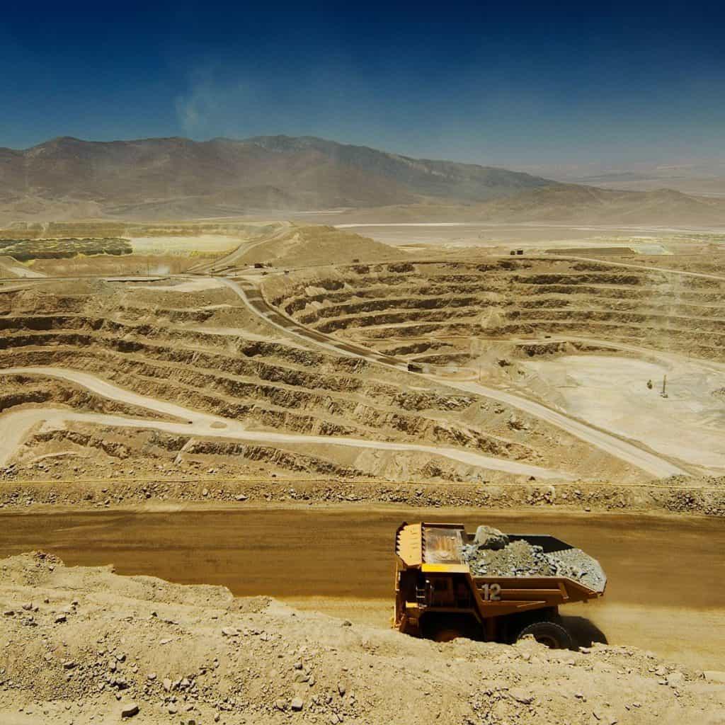 Lomas Bayas Copper Mine