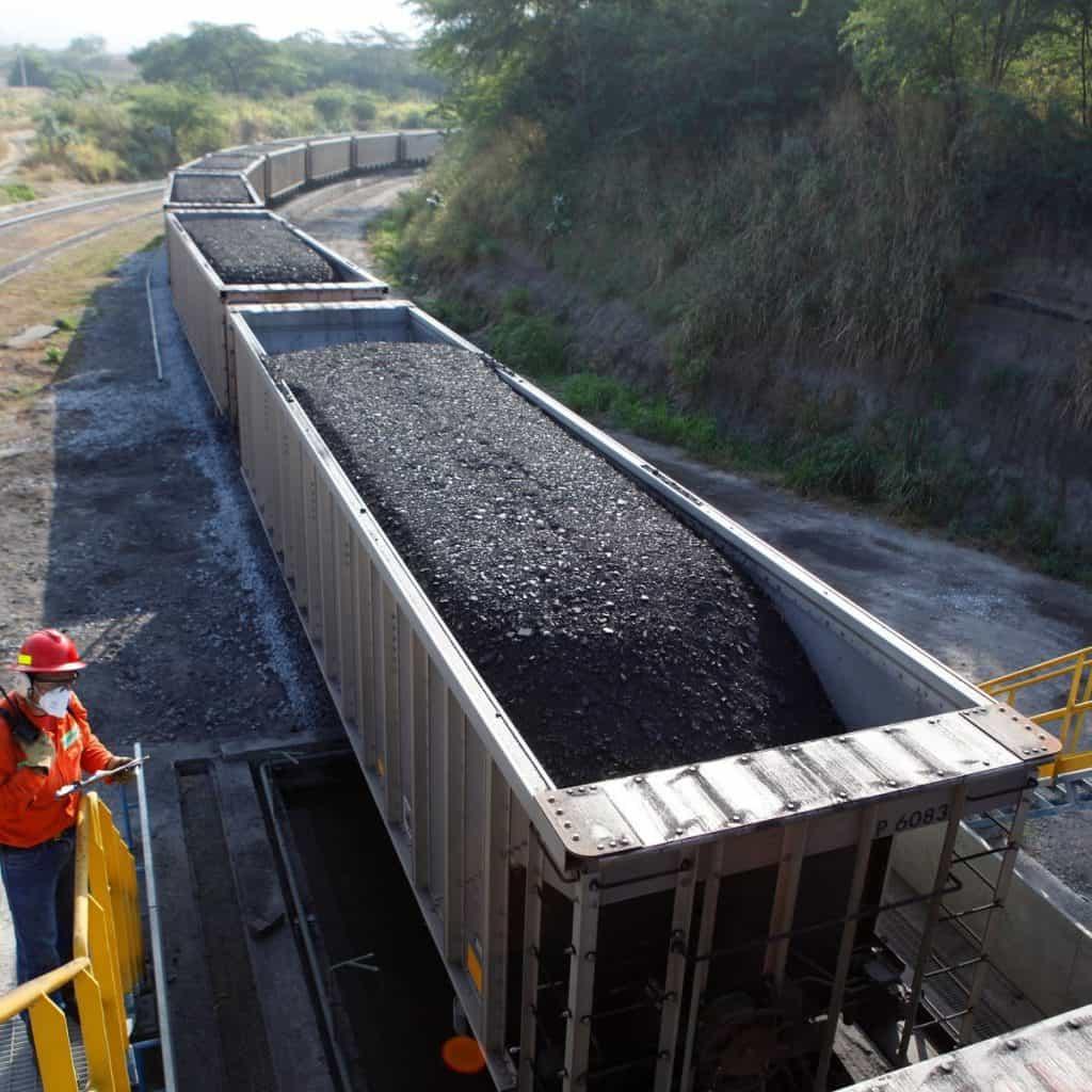Prodeco Coal Train