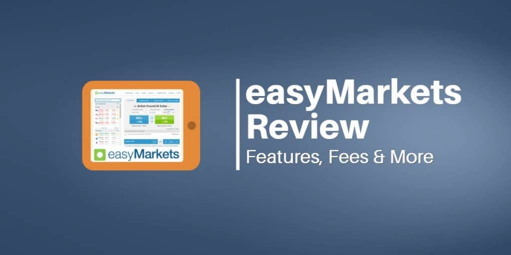 easyMarkets Header