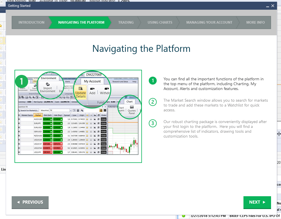 Forex platform review