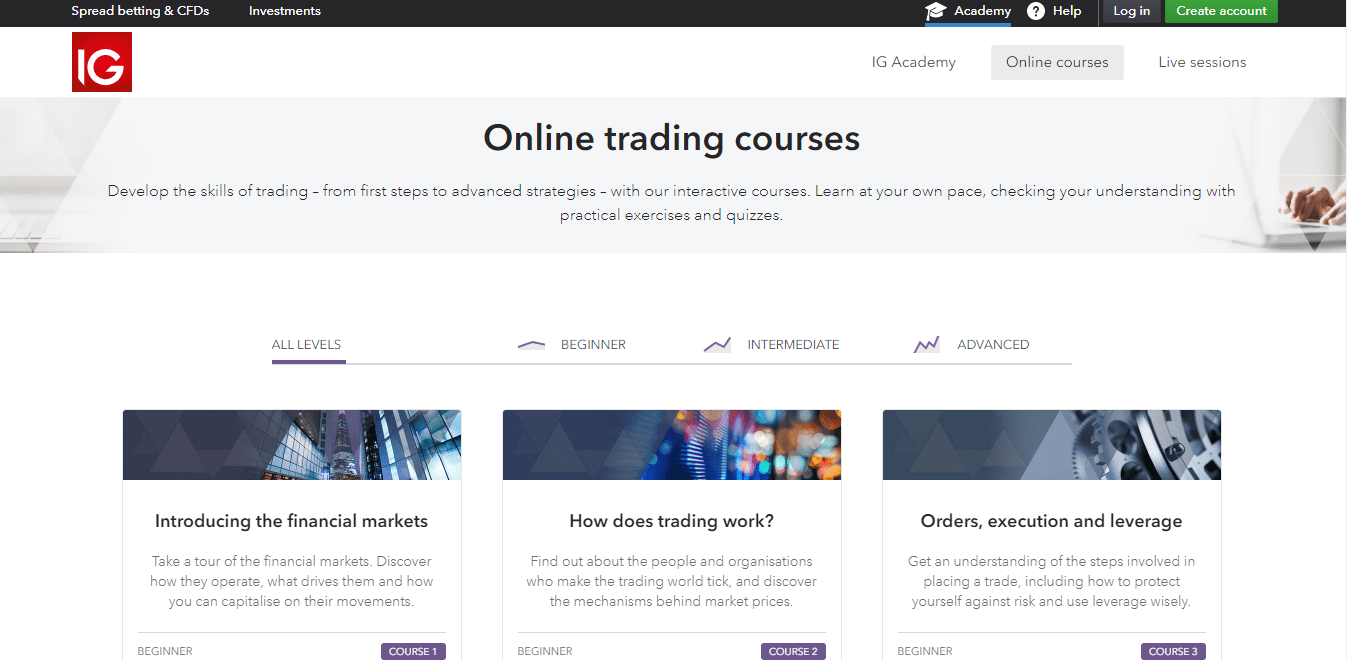 IG Courses