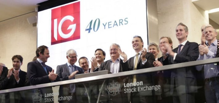 IG at the London Stock Exchange