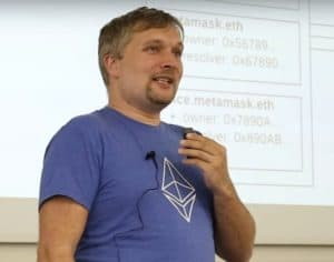 Nick Johnson Ethereum Core Developer (Via Youtube)
