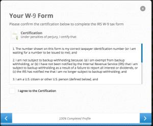 eToro tax form
