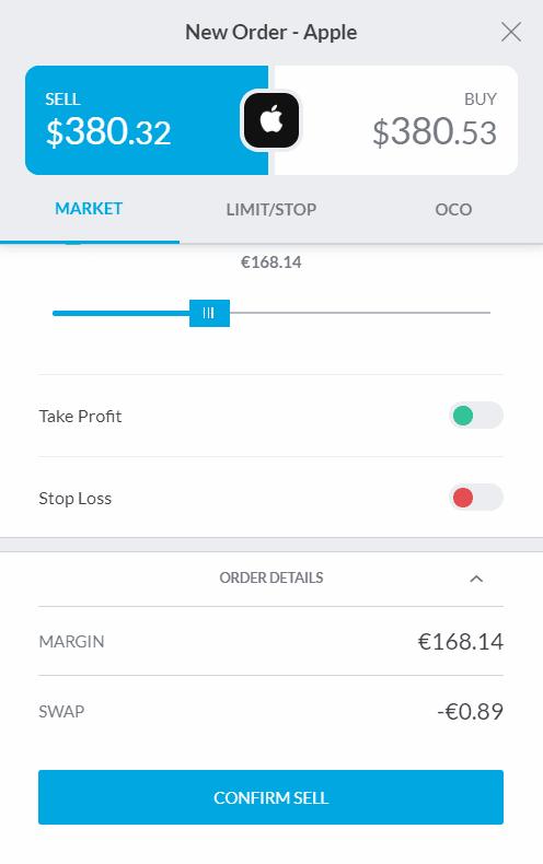desktop trading screen