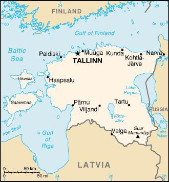 estonia map