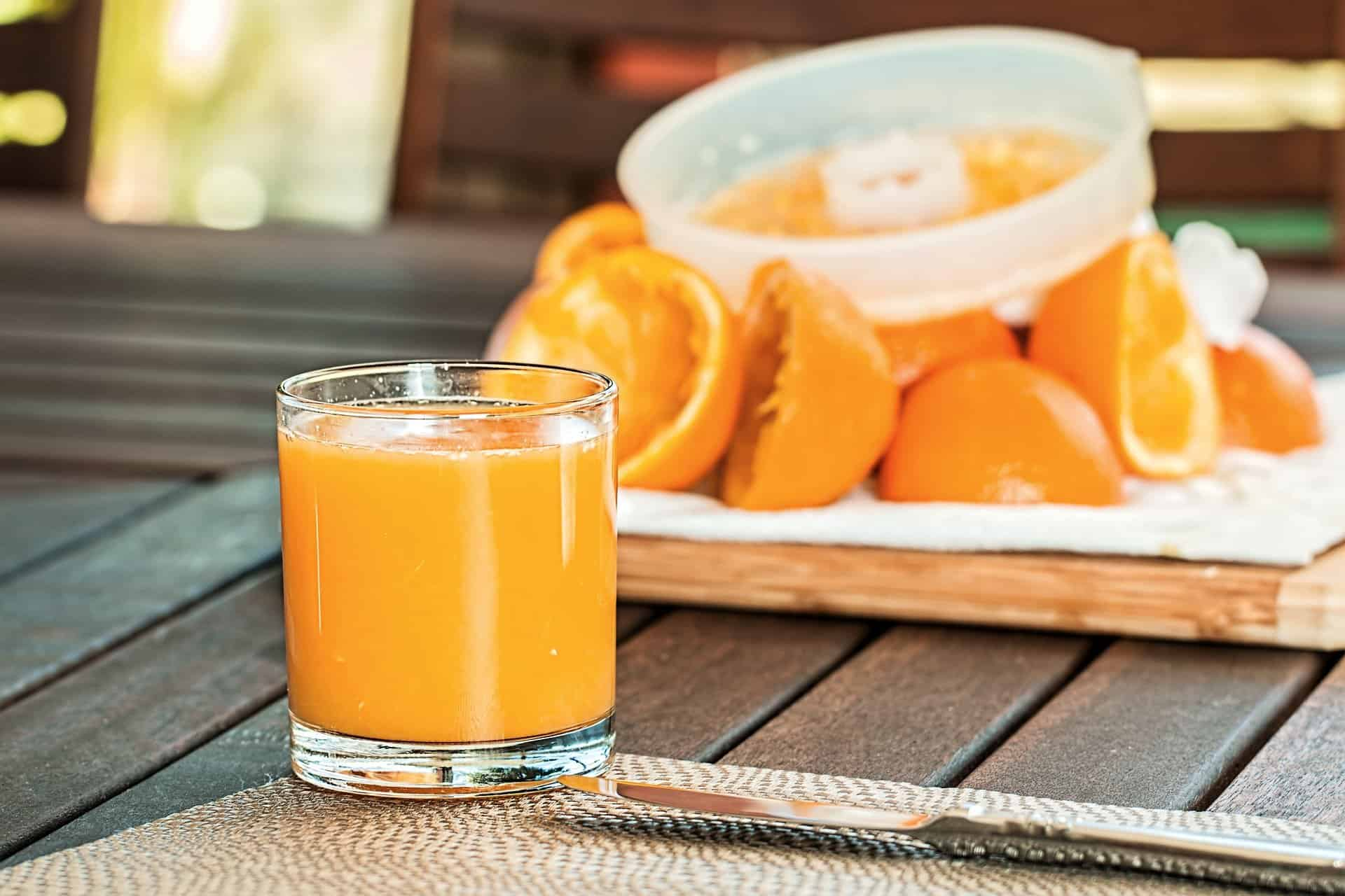 Orange Juice Breakfast