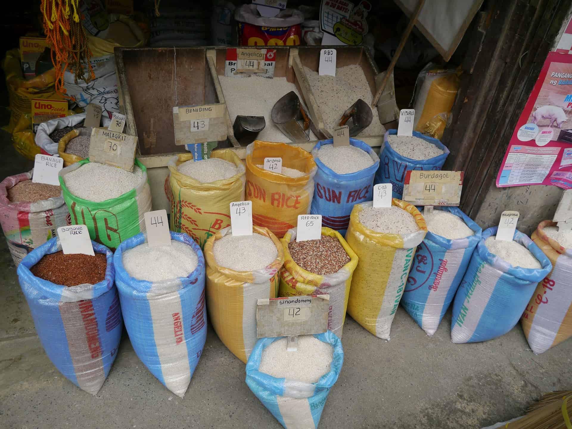 Rice sacks for sale