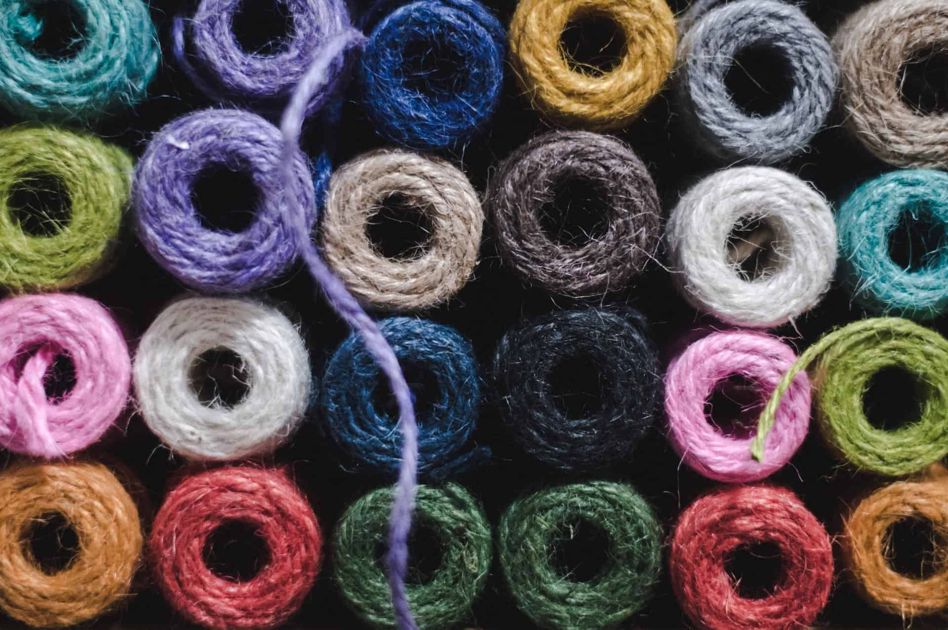 A variety of yarn for textile production