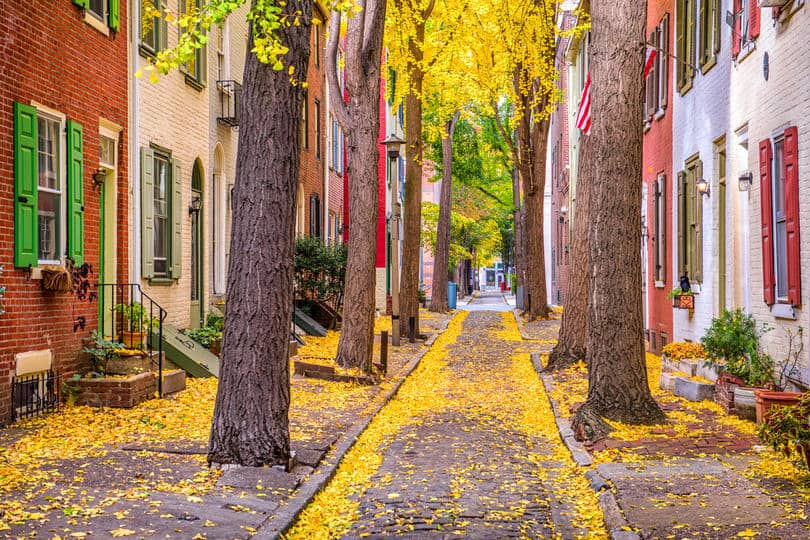Philadelphia in Fall