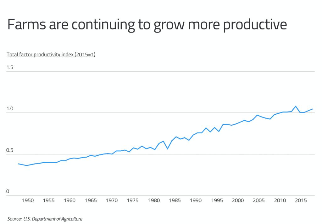 Farm Productivity Over Time