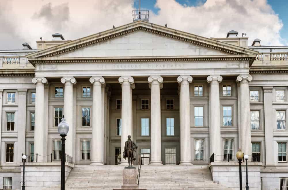 District Of Columbia US Treasury